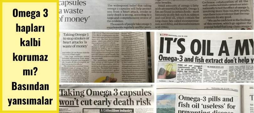 omega 3 basında