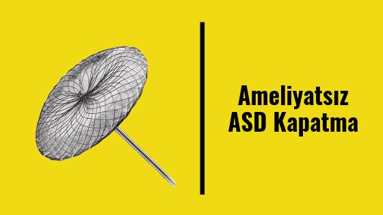 Ameliyatsız ASD Kapatma