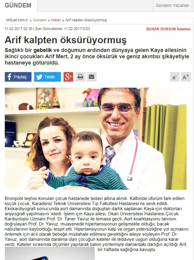 Arif Kalpten Öksürüyormuş-milliyet.com.tr